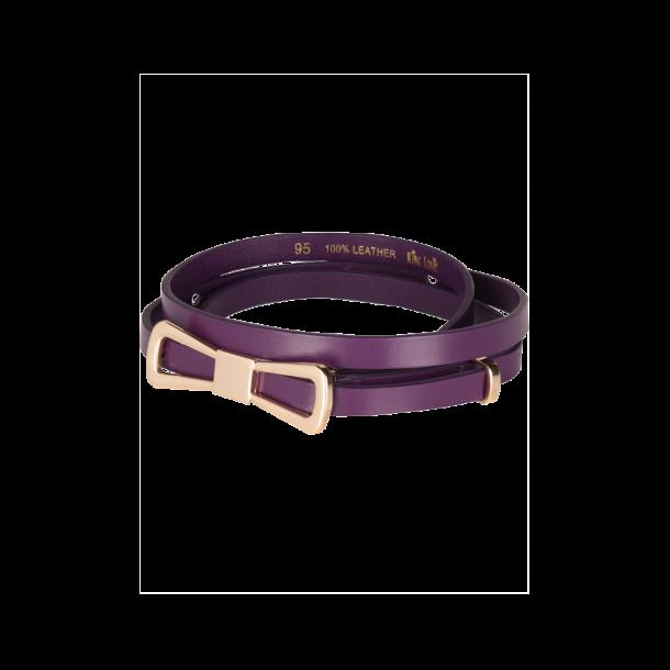 Bælte Bow Shadow Purple