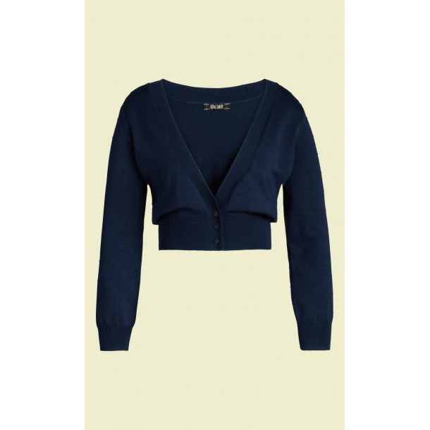 Bolero King Louie V Neck Droplet navy