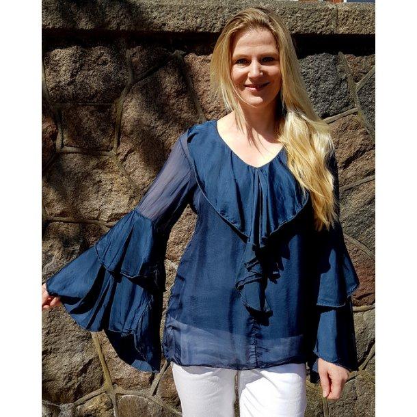 Bluse Obsession Antonia blue