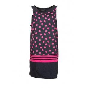 026fd43883a8 Kjole Handberg Emma Pink Dot +Size