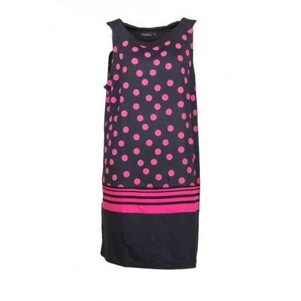 Kjole Handberg Emma Pink Dot +Size