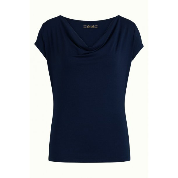 Bluse King Louie Waterfall Dark Navy