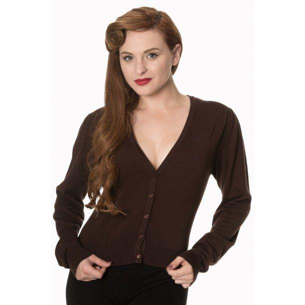Cardigan Banned V-neck brown