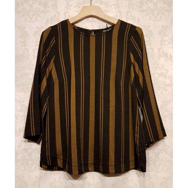 Bluse Mongul Vanja yellow stripe