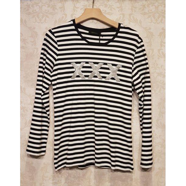 Bluse Mongul Saya X black stripe