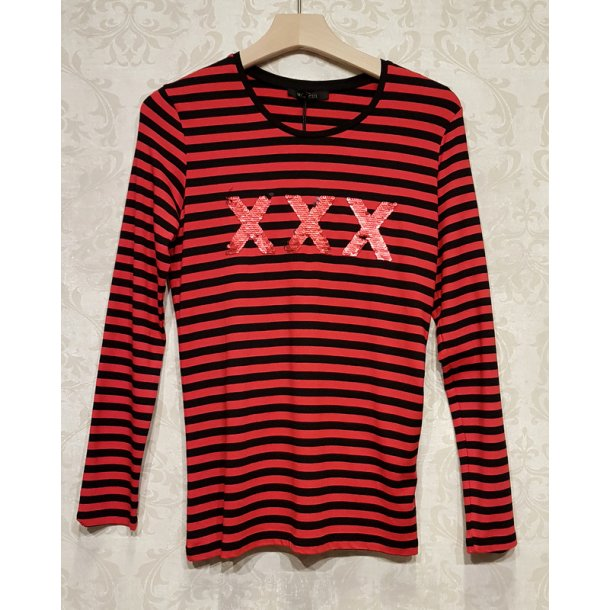 Bluse Mongul Saya X red Stripe