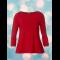 Bluse du Milde Alberta Basic Red