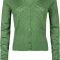 Cardigan King Louie V Heart Ajour jungle green