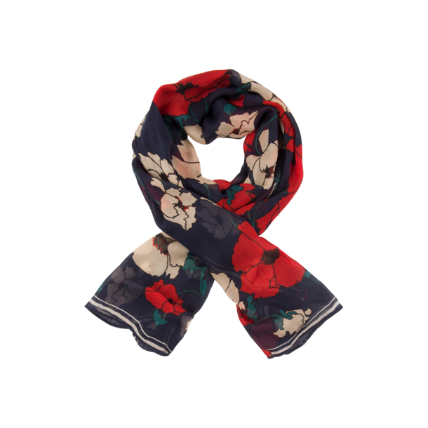 Tørklæde King Louie Foulard shirley Poppy