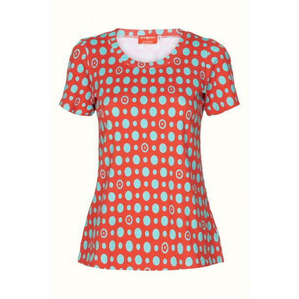 T-shirt Margot Turkeys Red
