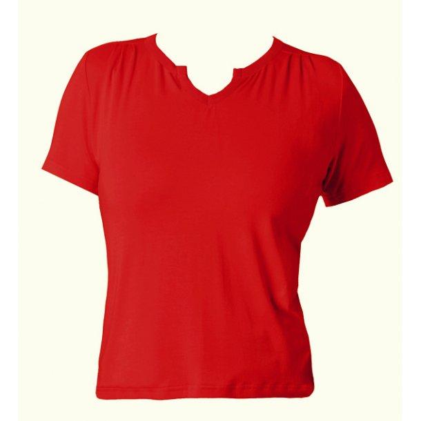 Bluse du Milde Petra red