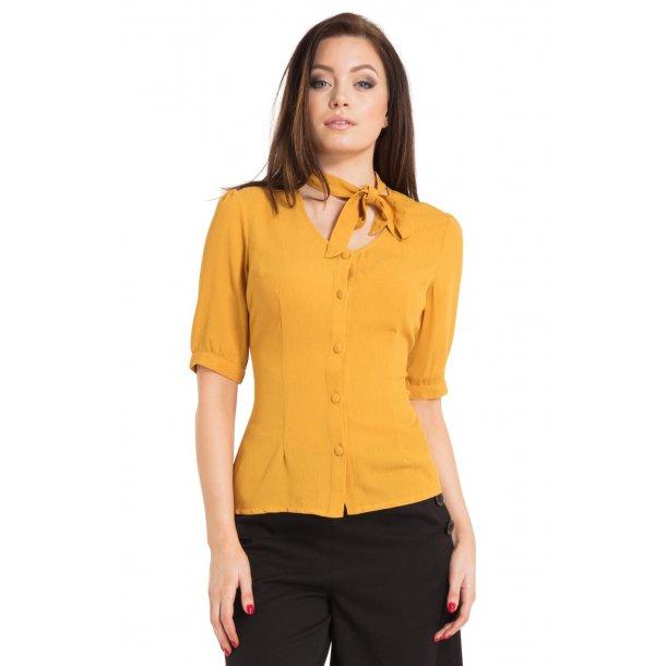 Skjorte Voodoo Vixen, Candice yellow